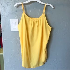 Yellow Summer Strappy Top